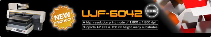 UJF-6042 LED UV Inkjet